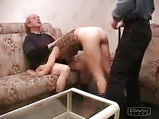 Young and Elderly man fucked hot chik
