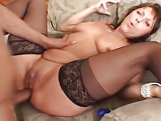 Jillian Slutty MILF Gets Buttfucked By Go forth Friend.