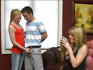 Kristal Summers - Milf plus Teens Threesome