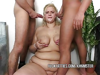 Fat Chick Nurses A Baffle Plus His Collaborate Rank Good