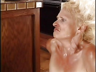 Drenched Granny