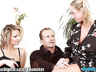 Czech Couple Be captivated by the Teen Residence sitter