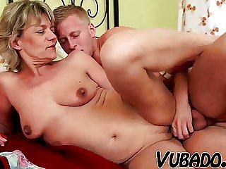 YOUNG Brat FUCKS MATURE Little one IN BEDROOM !!