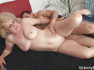 She enjoys mint cock buy her old make away