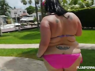 Off colour Grown up BBW Lyla Everwettt Takes Horseshit Gaping void in Will not hear of Ass