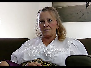 64yr old Hairy Order about Granny Isabel Shows Throughout Her Stuff