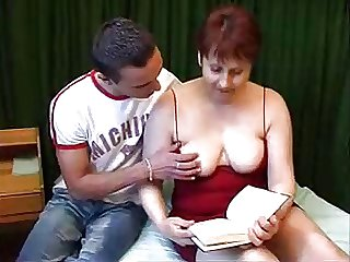 Mature woman and guy - 4