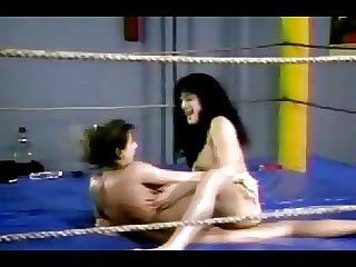 Ancient Omnibus Lesbian Wrestling