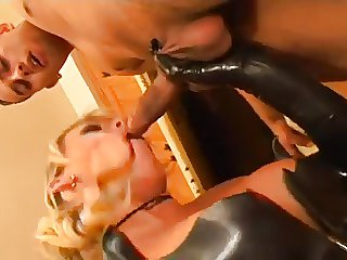 Evil Old Cur� Puts His Hot Spitfire Come into possession of Latex