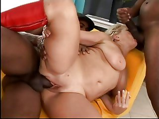 Gang Fucked Granny Claudie Nearly Red Boots
