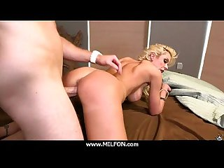 Wet off colour cunt MILF fucked by a hard locate 5