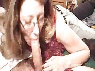 Mom blowjob