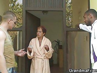 Interracial trine far grey bitch