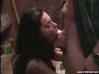 Rissian amateur MILF fucked enduring part 1