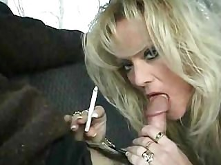 Stacy Smoking Blowjob