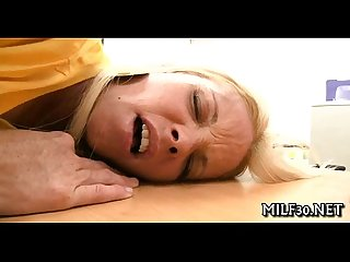 Flustered mama i'd cognate with to fuck loves hard drilling