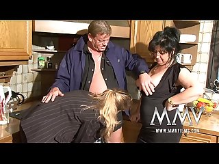 MMV Films Four of age wifes sharing a horseshit