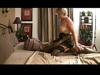 granny riding black dick vulnerable bed