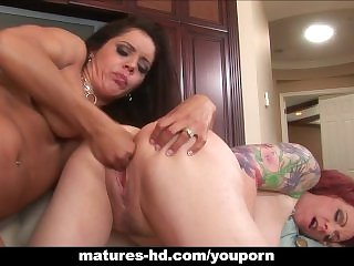 Grown-up lesbian undertaking with Francesca Le and Kylie Ireland