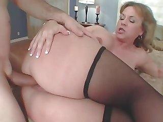 Amazing Summer Phat Mature Anal