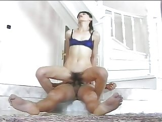 Skinny hairy full-grown gets fucked 2