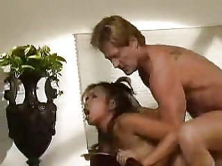 Young Asian Schoolgirl Fucked By Mature White Man